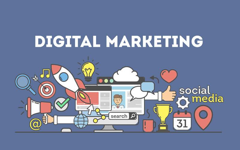 شاخه های مختلف دیجیتال مارکتینگ کدامند؟